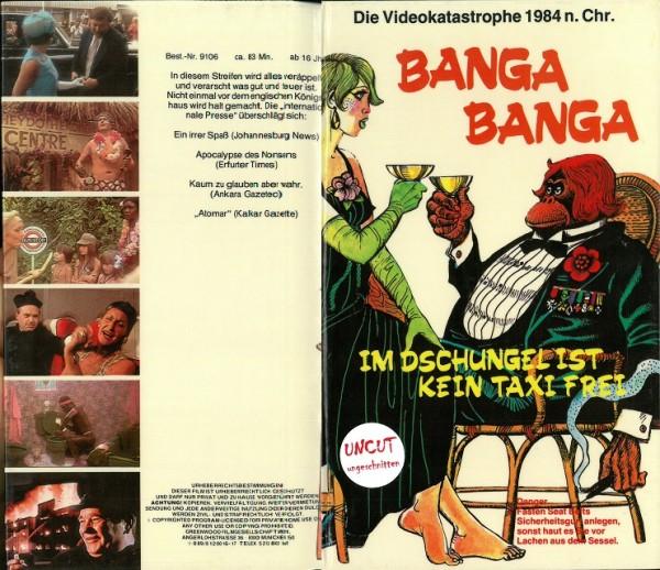 Banga Banga - Im Dschungel ist kein Taxi frei (Hartbox)
