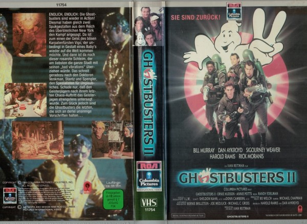 Ghostbusters 2 (Hartbox)