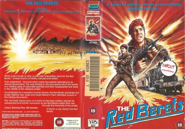 Red Berets, The - Sturm der Feuervögel (Stablecane Home Video UK Import)