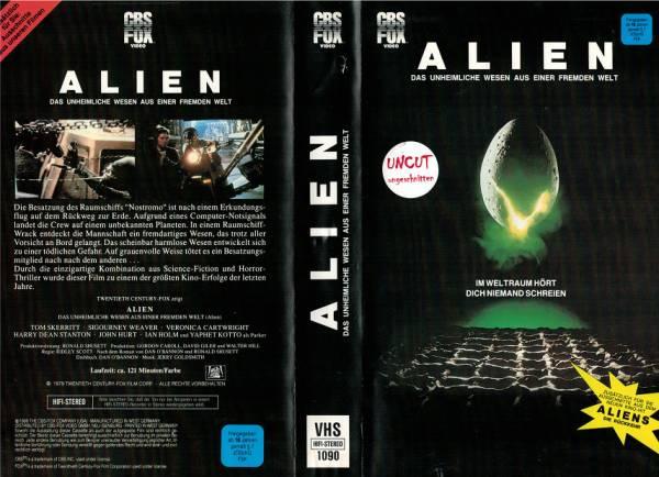 Alien - Das unheimliche Wesen aus einer fremden Welt - grosser Einleger
