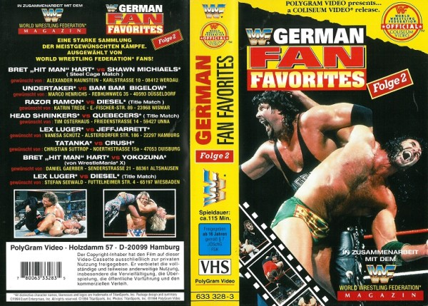 German Fan Favourites 2 (WWF Wrestling)