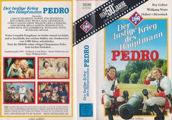lustige Krieg des Hauptmann Pedro, Der