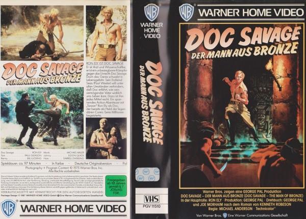 Doc Savage - Der Mann aus Bronze (VK)