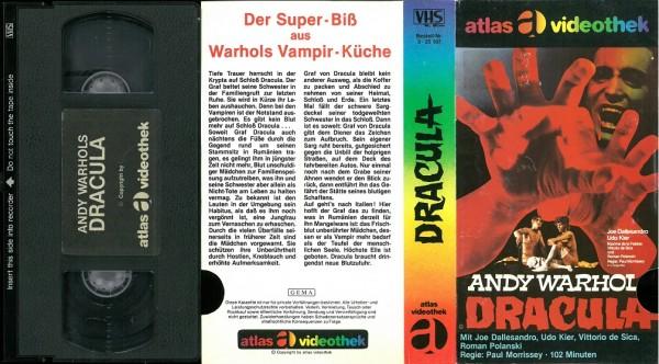 Andy Warhol's Dracula (Atlas Glasbox)