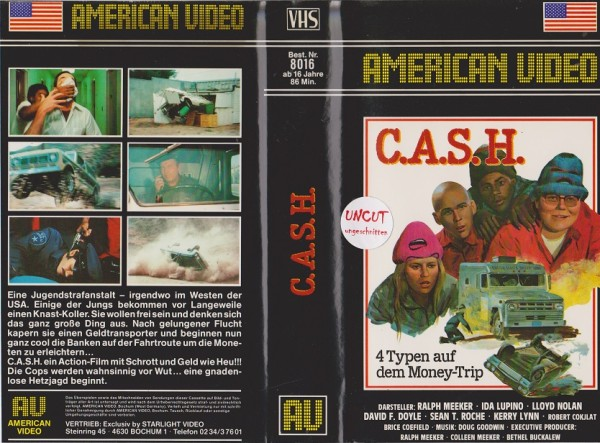 C.A.S.H. - 4 Typen auf dem Money-Trip / Cash