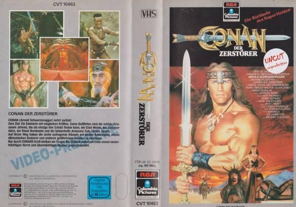 Conan - Der Zerstörer (RCA grau)