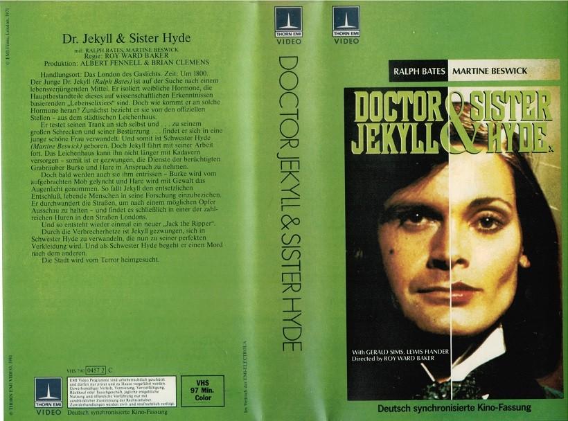 Dr. Jekyll & Sister Hyde (Thorn Emi gross) | Horror
