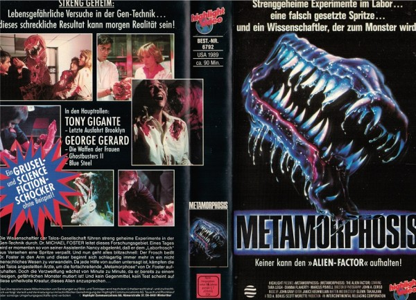 Metamorphosis - The Alien Factor