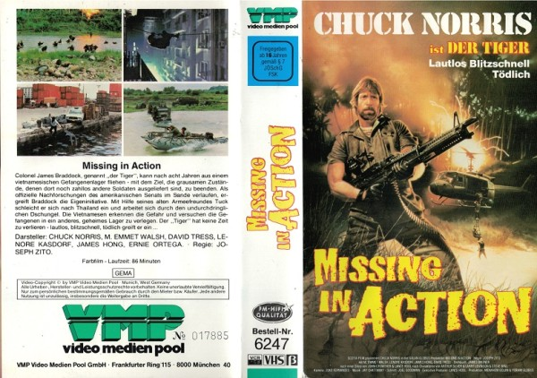 Missing in Action (VMP)