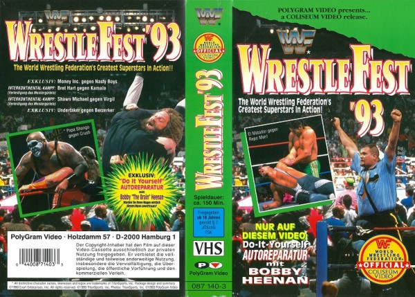 Wrestle Fest 93 (WWF Wrestling)