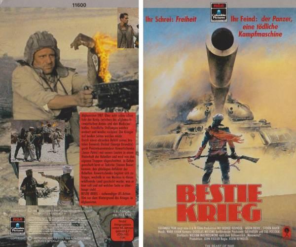 Bestie Krieg (Hartbox)