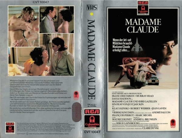 Madame Claude (RCA grau)