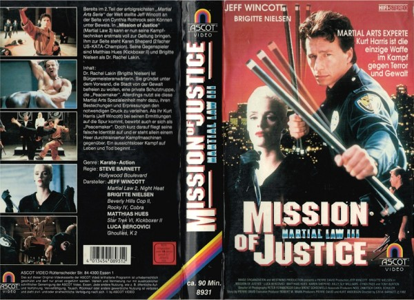 Martial Law 3 - Mission of Justice (Hartbox)