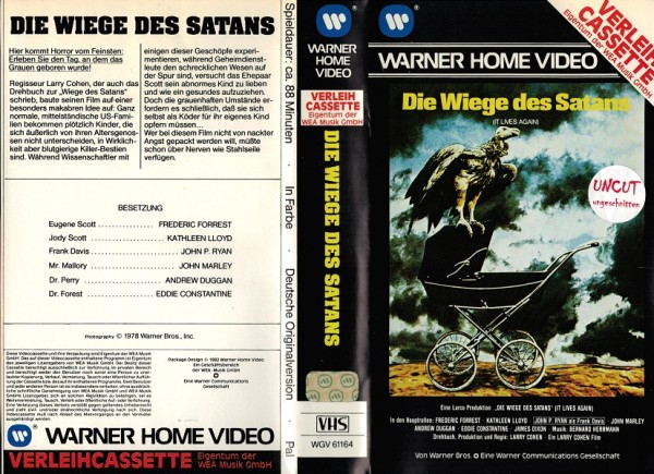 Wiege des Satans, Die (VL EA)