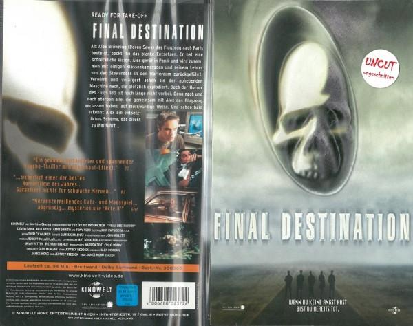 Final Destination (3D Cover)