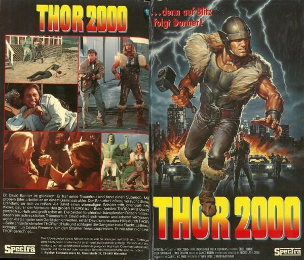 Thor 2000 - Die Rückkehr des unheimlichen Hulk (Hartbox) TV Serie