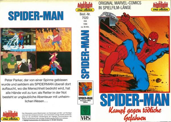 Spider-Man - Spiderman - Kampf gegen tödliche Gefahren (Zeichentrick)