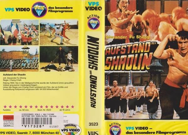 Aufstand der Shaolin - Der Aufstand von Peking (gelbe Serie)