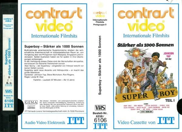 Superboy - Stärker als 1000 Sonnen (ITT Contrast Glasbox)