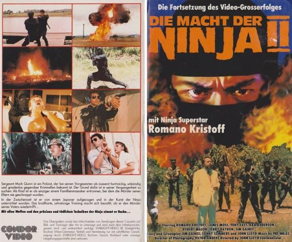 Macht der Ninja 2, Die (Hartbox)