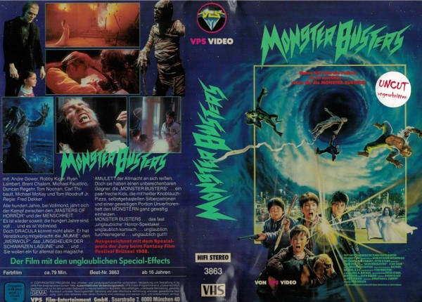 Monster Busters / The monster squad