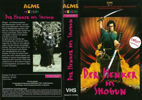Henker des Shogun - Shogun Assassin (ACME Video)