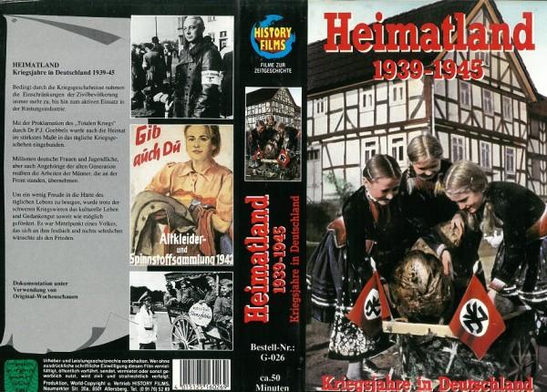 Heimatland 1939-1945 - Kriegsjahre in Deutschland (Doku)
