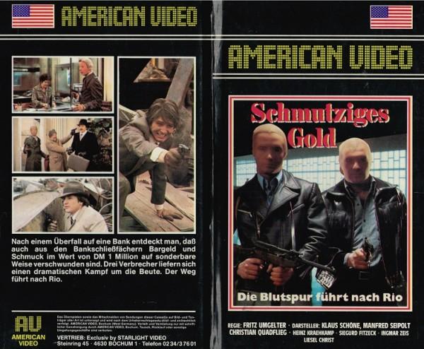 Schmutziges Gold - Tatort Zwei Flugkarten nach Rio (1976)