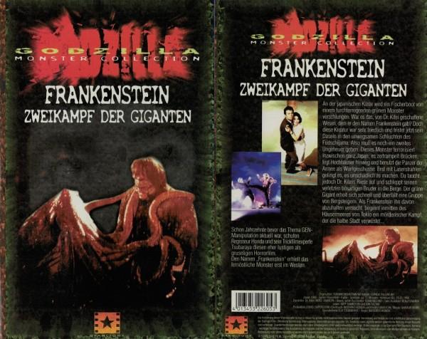 Frankenstein - Zweikampf der Giganten (Hartbox)