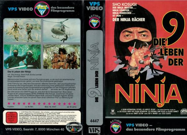 9 Leben der Ninja, Die