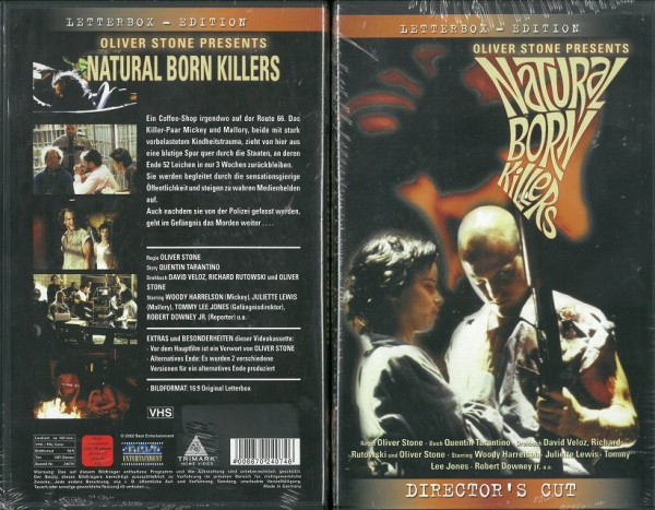 Natural Born Killers (Director´s Cut) - NEU, OVP