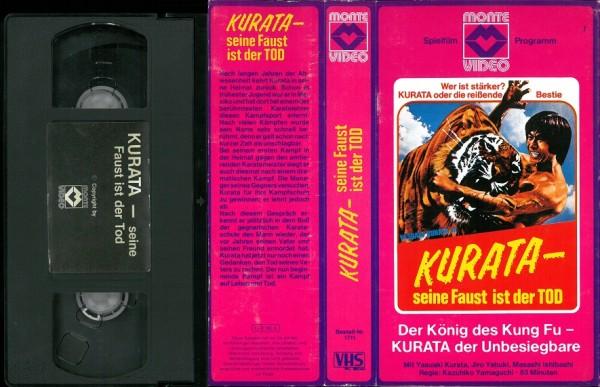 Kurata - Seine Faust ist der Tod (Glasbox)
