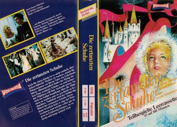 zertanzten Schuhe, Die (Videorama) | VHS Kleinstauflagen