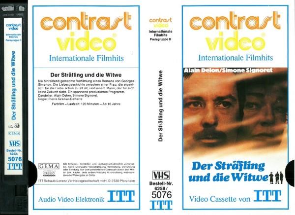 Sträfling und die Witwe, Der - The Widow Couderc (ITT Glasbox)