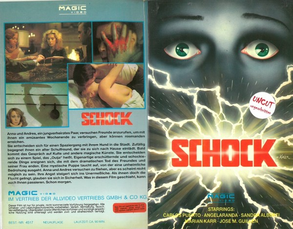 Schock - Satan´s Blood (Magic Video Hartbox)