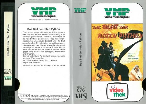 Blut der roten Python, Das - The battle wizard (VMP Glasbox)