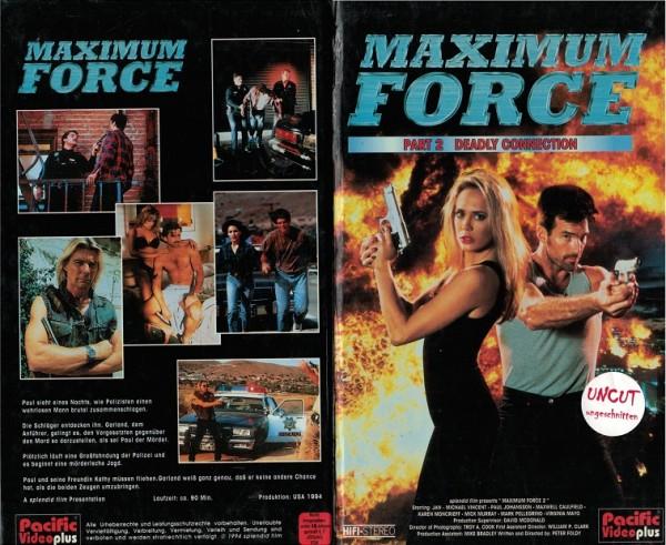 Maximum Force 2 - Deadly Connection (Hartbox)