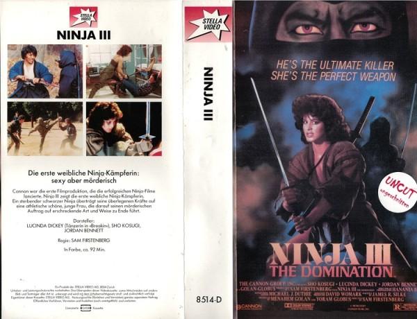 Herrschaft der Ninja, Die - Ninja 3 - The Domination (Stella)