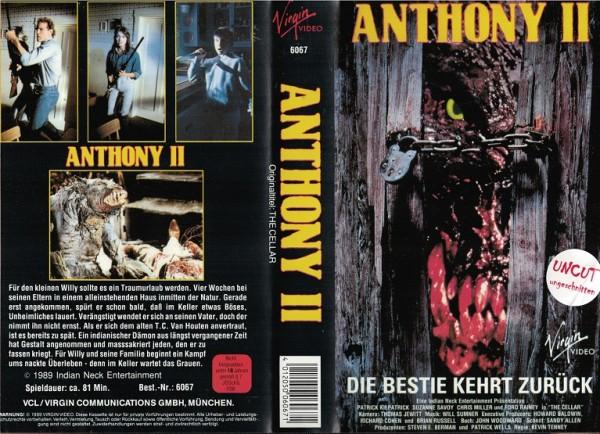 Anthony 2 - Die Bestie kehrt zurück - The Cellar