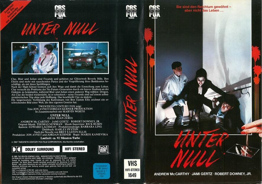 Unter Null Film