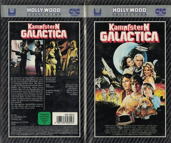 Kampfstern Galactica - Der Film (CIC Hollywood Collection)