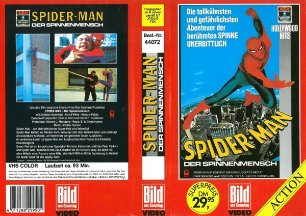 Spiderman - Der Spinnenmensch (BAMS Video)