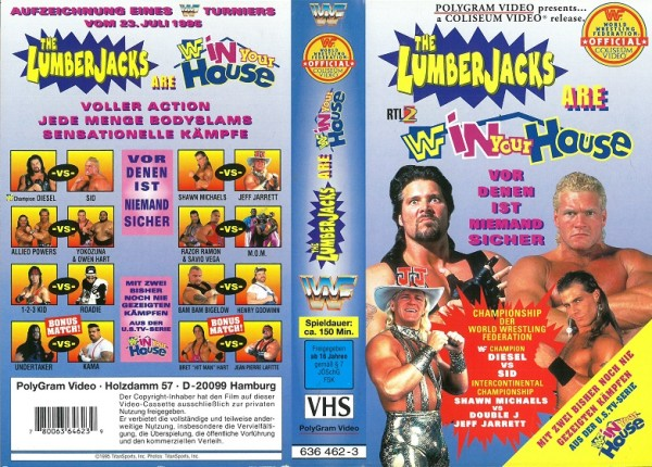 Lumberjacks are in your house, The (WWF Wrestling)