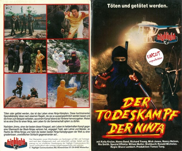 Todeskampf der Ninja, Der (Hartbox)