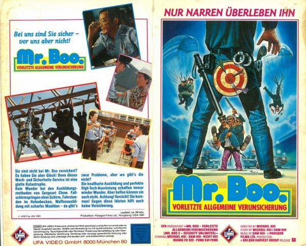 Mr. Boo - Vorletzte allgemeine Verunsicherung (Hartbox)