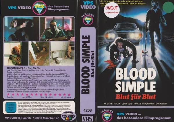 Blood Simple - Blut für Blut (alte Synchro)