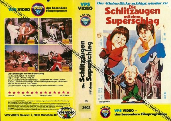 Schlitzaugen mit dem Superschlag, Die (Mustercover)