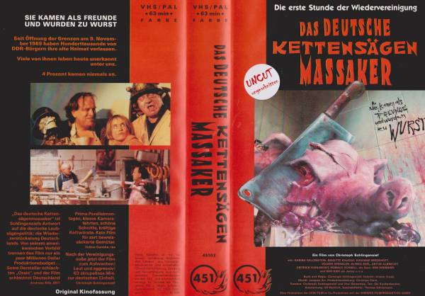 Deutsche Kettensägenmassaker, Das