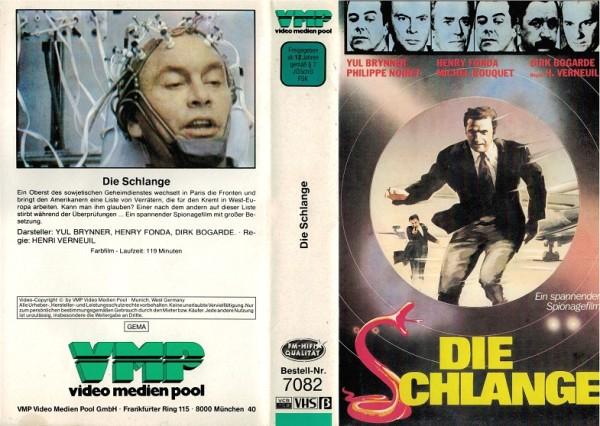Schlange, Die (VMP Cover, ITT Kassette)
