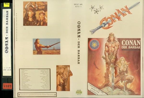 Conan - Der Barbar (UVC Video)